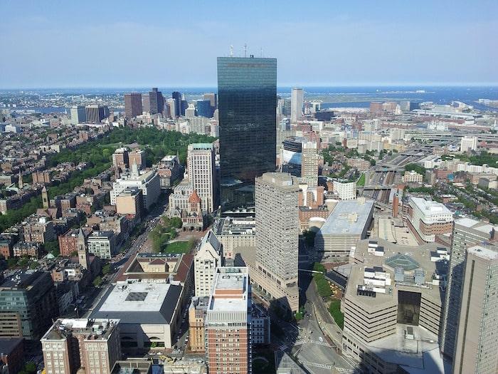 mooiste uitzicht boston