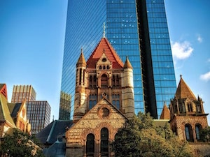 wat zien in boston