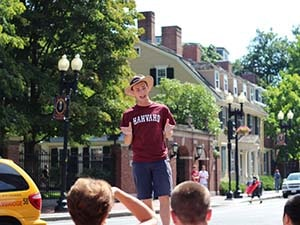 harvard excursies boston